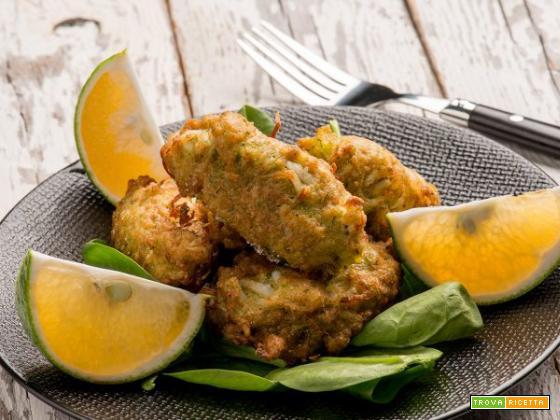 Frittelle di bianchetti, deliziosi e nutrienti finger food