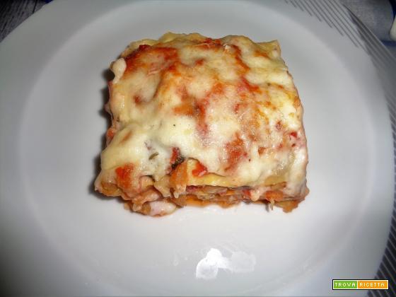 Ricetta – Lasagne al forno con parmigiana e salsiccia