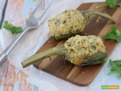 Carciofi Ripieni con Mollica (senza carne e senza uova)