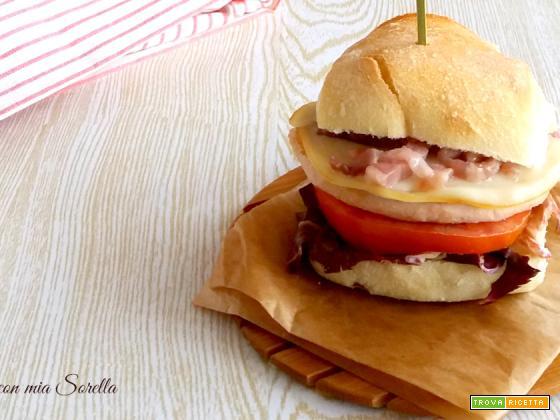 Cheeseburger di tacchino