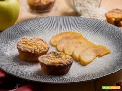 Tortino di riso dolce con mele e uvetta: ingredienti genuini