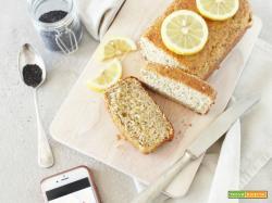 Ricotta, Lemon & Poppyseed Plumcake