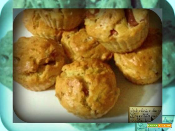 Muffin con Mortadella e Granella di Pistacchio Finger Food
