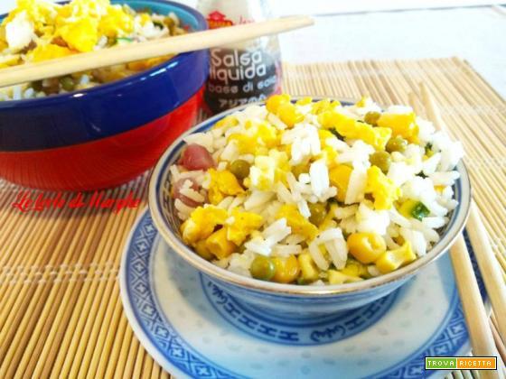 Riso alla cantonese piatto a base di riso