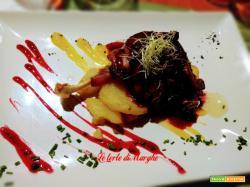 Cosciotto d'anatra arrosto con salsa al porto