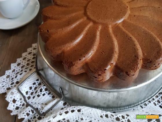 Torta soffice cocco e cioccolato