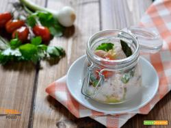 Salmone in vasocottura alle erbe aromatiche
