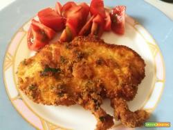 Petti di pollo impanati e fritti | Ricetta