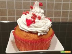 Cupcake cuore di fragole | Ricetta
