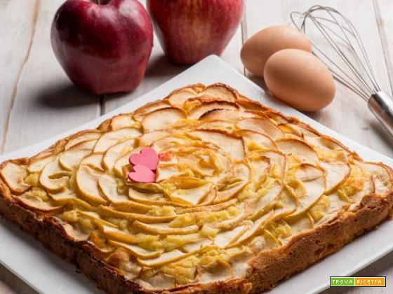 Torta di mele con farina di teff e riso: un dessert unico!