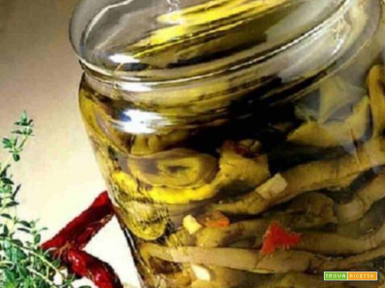 Melanzane sott'olio alla calabrese