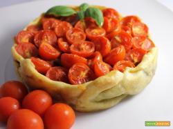Tortino pomodorini e melanzane