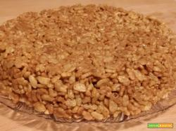 Torta Mars e Rice Krispies