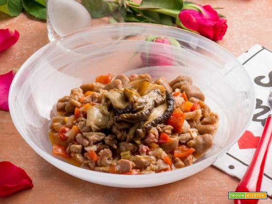 Gnocchetti ossolani con ragù di agnello e lamelle di porcini