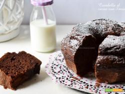 Ciambella al cacao con stevia