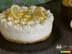 Cheesecake chantilly al limone