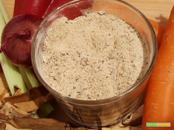 Brodo granulare vegetale con porcini