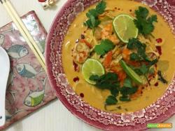 Zuppa di noodles Thai