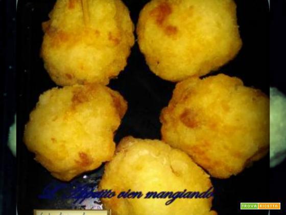 Polpette di Riso e Salsicce con il metodo Amc Finger Food