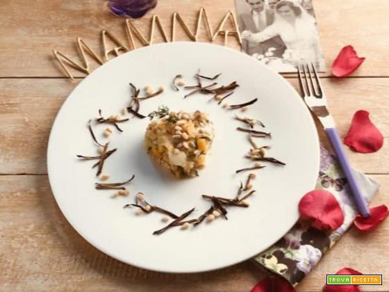 Festa della mamma: cuore di melanzana alla siciliana