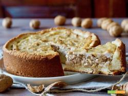 Crostata Morbida Ricotta e Noci