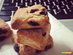 Vegan biscotti con Uvetta e Sesamo