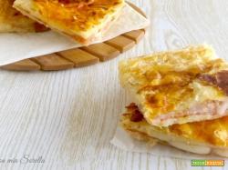 Parigina di pasta sfoglia – ricetta rustico napoletano veloce