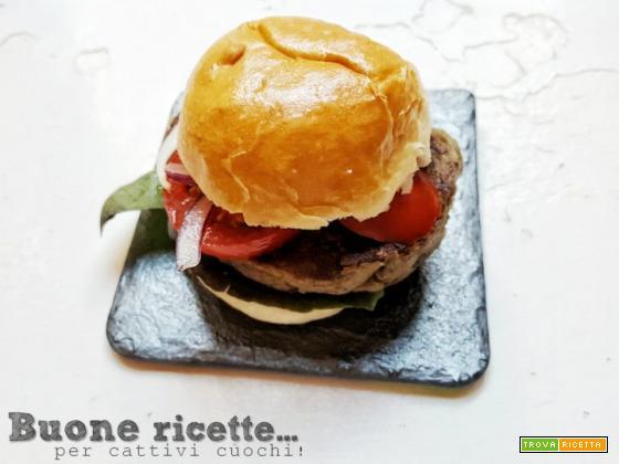 Hamburger di melanzane