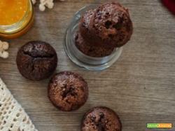 Muffin senza glutine al cioccolato e caffè