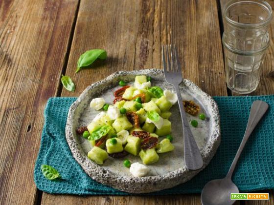 Gnocchi di ricotta e piselli: un primo piatto senza glutine
