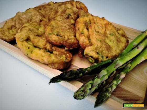 Frittelle di asparagi