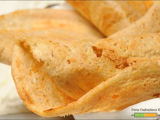 Masala Dosa – crepes di riso,lenticchie e fagioli mung