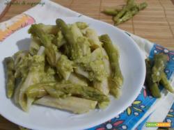 Penne al pesto di asparagi