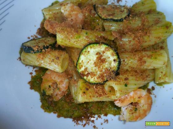 Ricetta – Pasta con zucchine e gamberi