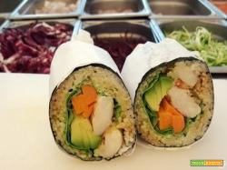 Come si prepara il sushi burrito: la ricetta di Davide Croatto, fondatore di Fusho