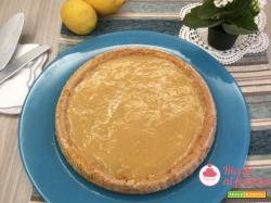 Crostata morbida con crema lemon curd
