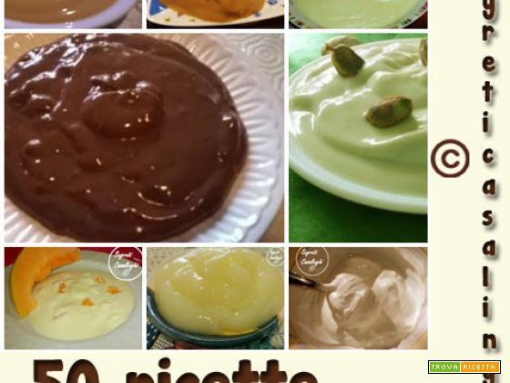 creme pasticcere e dessert