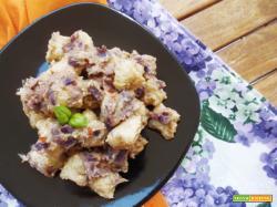 Gnocchi di Quinoa con pesto di Melanzane
