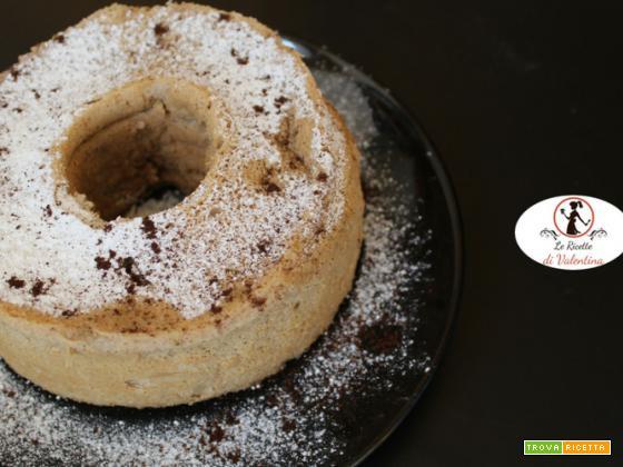 Angel cake al caffè cotta in pentola a pressione elettrica