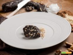 Salame di carrube e mandorle: un sostituto del cioccolato