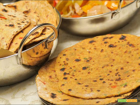 Gehu Bajra Thepla – pane indiano piatto