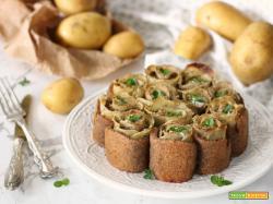 Torta salata con patate e senape di Dijon