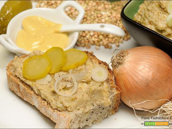Patè di grano saraceno gluten free ricetta lampo