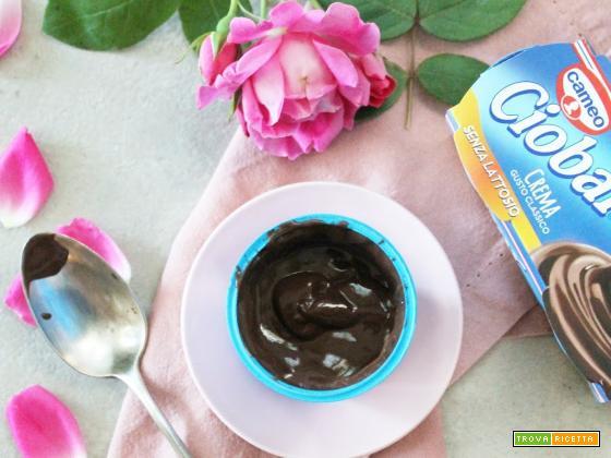 Un nuovo dessert senzalattosio: oggi si testa Ciobar crema gusto classico senza lattosio!