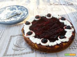 Cheesecake alla ricotta e amarene