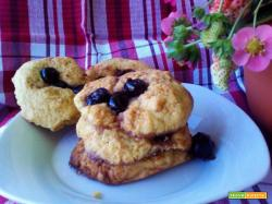 Biscotti alle amarene sciroppate