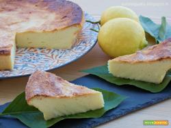 Torta d ricotta al limone