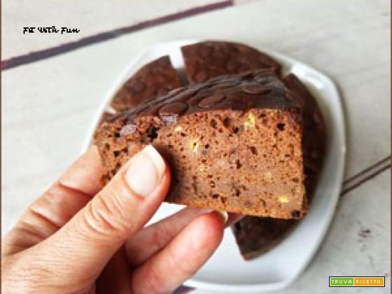 Torta Pancake Soffice alla Farina di Carrube Senza Glutine