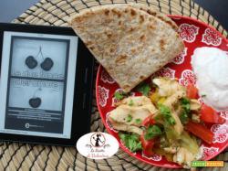 MANGIA CIO` CHE LEGGI 117: Fajitas di pollo ispirate da Le due facce dell'amore di NIck Spalding