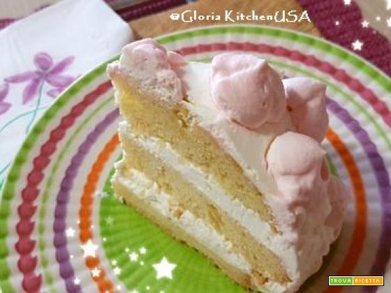 Torta Paradiso Cuscino Rosa